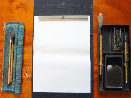 書道に必要な道具